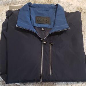 NWT - Michael Kors Navy Tech  Jacket